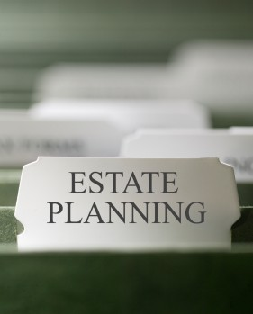 Estate Planning file tab